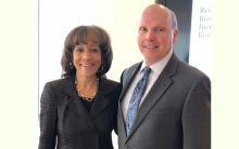 Deborah Jackson and Terrence McCourt